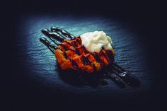 11. Chicken BBQ.  Pollo, especias, salsa de carne, salsa barbacoa, queso, nata  7 Pecados Maestro Albéniz, 3 966227684  No sirve: lunes  #Elche #Elx #tapas #AETE #visitelche