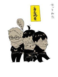 ばなな(@bnnaaa_)さん | Twitter Haikyuu Funny, Haikyuu Fanart, Kageyama, Haikyuu Anime, Hinata, Baby Crows, Bokuaka, Haikyuu Characters, Karasuno