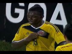 Brasil 0 colombia 1 #SUB17