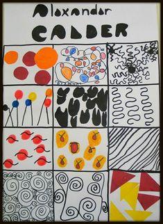 Calder Zoéline Plus Art Lessons, Camping Art, Circus Art, Alexander Calder, Art, Sculpture Projects