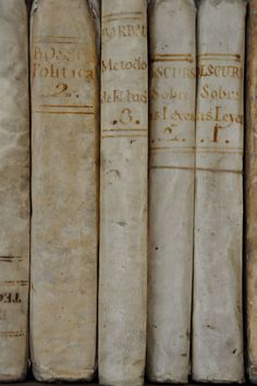 Patina of old books