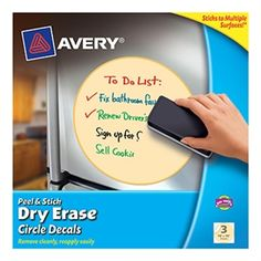Dry Erase Circles...these would be great for  guided reading tables!