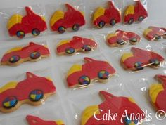 Wiggles Car Cookies