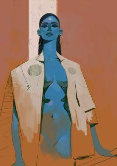 ArtStation - A queen, alexandre mahboubi