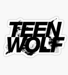 Teen wolf Pegatina