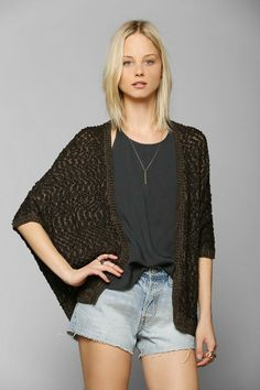 Staring At Stars Open-Stitch Cardigan #urbanoutfitters