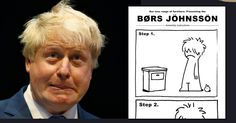 """This """"BØRS JÖHNSSÖN"""" set of Ikea assembly instructions nails what the mess he's brought on Britain 
