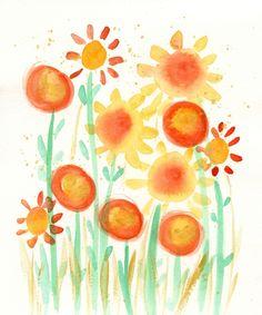 Oh Happy Day II by Deborah Mores Art