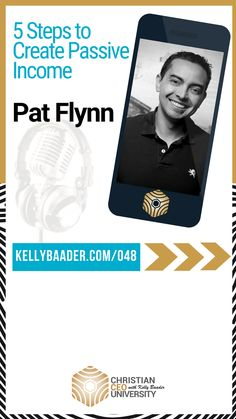 5 Ways To Earn Passive Income Online with Pat Flynn from Smart Passive Income Online Marketing, Digital Marketing, Creating Passive Income, Successful Online Businesses, Keynote Speakers, Lead Generation, Bestselling Author, Finance, Christian