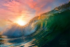 Gorgeous surf photography
