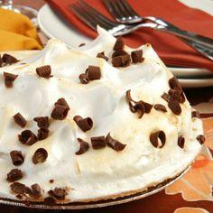 Creamy Chocolate Meringue Pie With Homemade Pie Crust