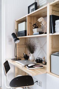 lundia | lisbet e. Home Office Design, Home Office Decor, House Design, Home Decor, Workspace Inspiration, Furniture Inspiration, Home Office Organization, My Living Room, First Home