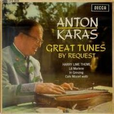 """7"""" 45RPM Great Tunes By Request EP by Anton Karas from Decca"""