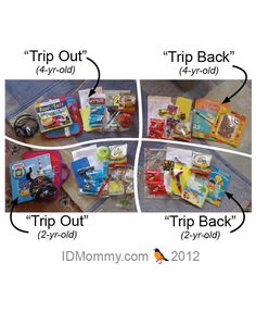 GREAT tips!  Traveling with toddlers and preschoolers. Tips for choosing & packing entertainment items!