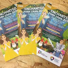 Loved producing this #artwork #design #events #graphicdesign #marketing #kidfriendly #enchanted #princess #eyecatching #instagood #craigavon @abc #peoplespark #fun #dayout #whatsonni