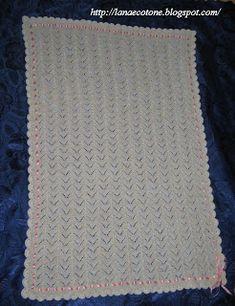 Lana e Cotone (maglia e uncinetto): Copertina a ferri Baby Knitting Patterns, Baby Blankets, Bavaria, Afghans, Cops, Opera, Castle, Germany, Amigurumi