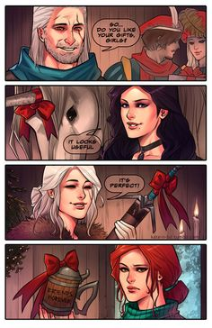 Presents by Geralt