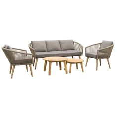 Outdoor Sofa, Outdoor Furniture Sets, Outdoor Decor, Garden Design, Taupe, Home Decor, Outdoors, Products, Sevilla