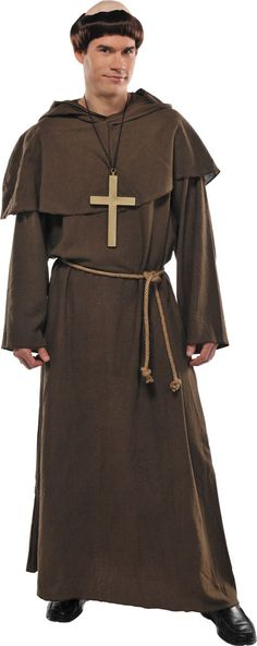 Adult Medieval Monk Costume - Party City
