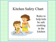Safety for kids and youtube on pinterest for 8 kitchen safety rules