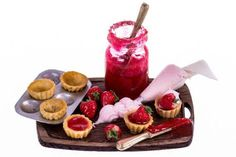 Reserved for Hevelyn making strawberry and cream by amanspeak, $22.00