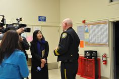 Chat with the Chief - January 11,  2016. Chief Sellers being interviewed by local ABC7 KGO news reporter and correspondent, Ms. Lilian Kim about upcoming #SB50 preparations.