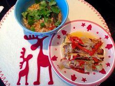 Patrícia is cooking.: Tofú de escabeche com arroz integral de tomate {ve...