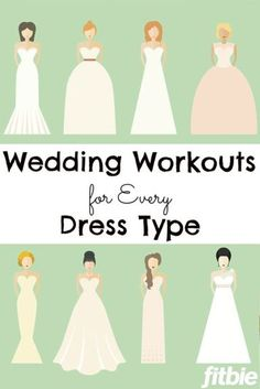Sweetheart? Strapless? Backless? No matter your dress, we have a workout for you! | Fitbie.com