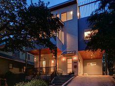 Contemporary 702 Upson in #Austin's Deep Eddy neighborhood.