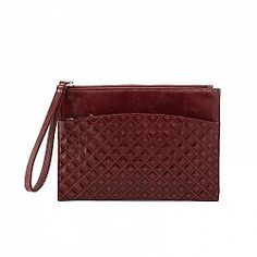 Hobo Noa Diamond Embossed Wristlet