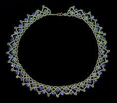 Free pattern for necklace Belle | Beads Magic