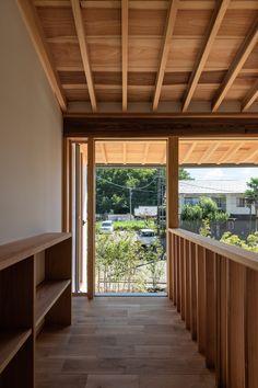 #吹抜け  #借景 #雑木の庭 #無垢 #福井 #設計事務所 Windows, Ramen, Window