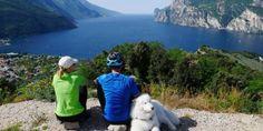 Splendida vista da malga Zures, la quale affaccia sul lago Trentino!