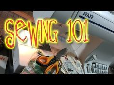 Sewing 101: Canvas Journal Cover - YouTube