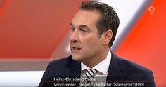 Maischberger - FPÖ-Mann Strache nervt Moderatorin