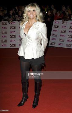 Camille Coduri At The National Tv Awards At The Royal Albert Hall In London.