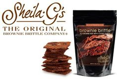 Don't Pass This Up! $1.00 Off Two Bags Of Sheila G's Brownie Brittle With Printable Coupon!