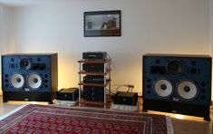 speakers (JBL 4350B)