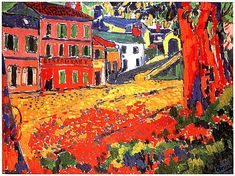 Maurice de Vlaminck was a French painter and a leading figure in the Fauvism art movement, famous for his vivid pure colors and expressive landscapes. Georges Braque, Henri Matisse, Raoul Dufy, Fauvism Art, Maurice De Vlaminck, Andre Derain, Post Impressionism, Fine Art, Oeuvre D'art
