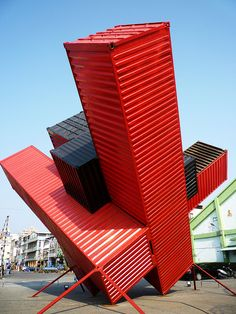 2009 Kaohsiung International Container Art Festival, Kaohsiunug City by watersling, via Flickr