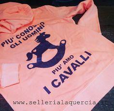 Felpa donna con zip www.sellerialaquercia.it