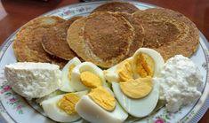 από την Maria Payota Υλικά: 1 αυγό και 1 ασπράδι 2κ.σ γεμάτες γιαούρτι 0% Dukan Diet, Pancakes, French Toast, Breakfast, Recipes, Food, Girls, Morning Coffee, Toddler Girls