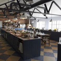 This industrial lighting choice looks fantastic - designed by Cotswolds lighting specialists, Trainspotters.  #industrial #lighting