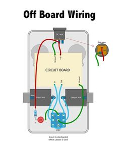 True Bypass Looper LED, DPDT Switch Wiring Diagram Diy