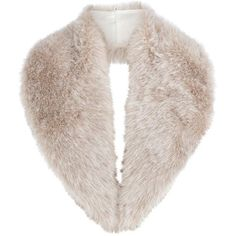 Ivory florrie faux fur tippet (1,090 MXN) ❤ liked on Polyvore featuring accessories, scarves, fur, jackets, outerwear, women's clothing, beaded shawl, faux fur scarves, faux fur shawl and wrap shawl