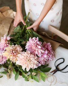 buying fresh flowers every weekend