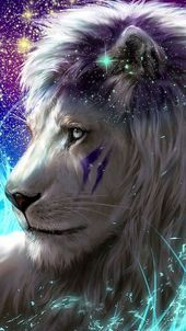 Lion wallpaper iphone art Ideas for 2019 Tier Wallpaper, Wolf Wallpaper, Animal Wallpaper, Handy Wallpaper, Big Cats Art, Furry Art, Cat Art, Mythical Creatures Art, Fantasy Creatures