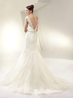 Tasteful Enzoani Wedding Dresses 2014 Bridal Collection. http://www.modwedding.com/2014/01/29/tasteful-enzoani-wedding-dresses-2014-bridal-collection/ #wedding #weddings #fashion