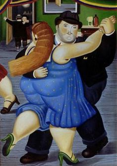 Am on a Botero kick today. He just inspires me with his humor & style! CAKKY