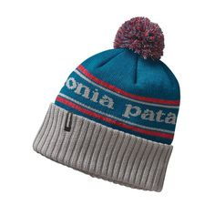 1bca0e60 The Patagonia Powder Town Beanie is made from soft, comfortable recycled  polyester knit that stays dry on powder days and insulates even when wet.